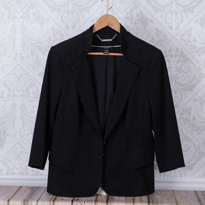 White House Black Market Black Blazer/Jacket